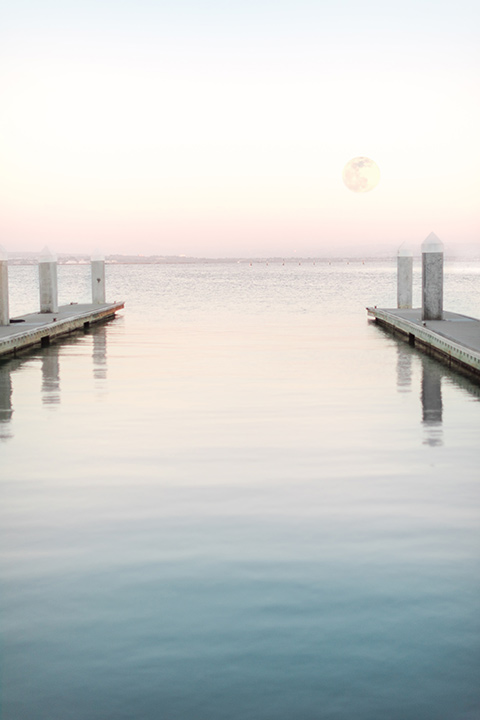 dock and water