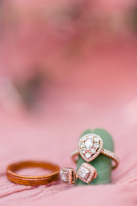 bridal accessories and rings