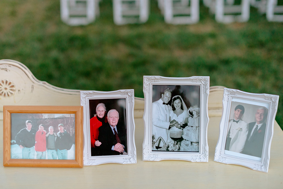 pictures of family members who cannot be there
