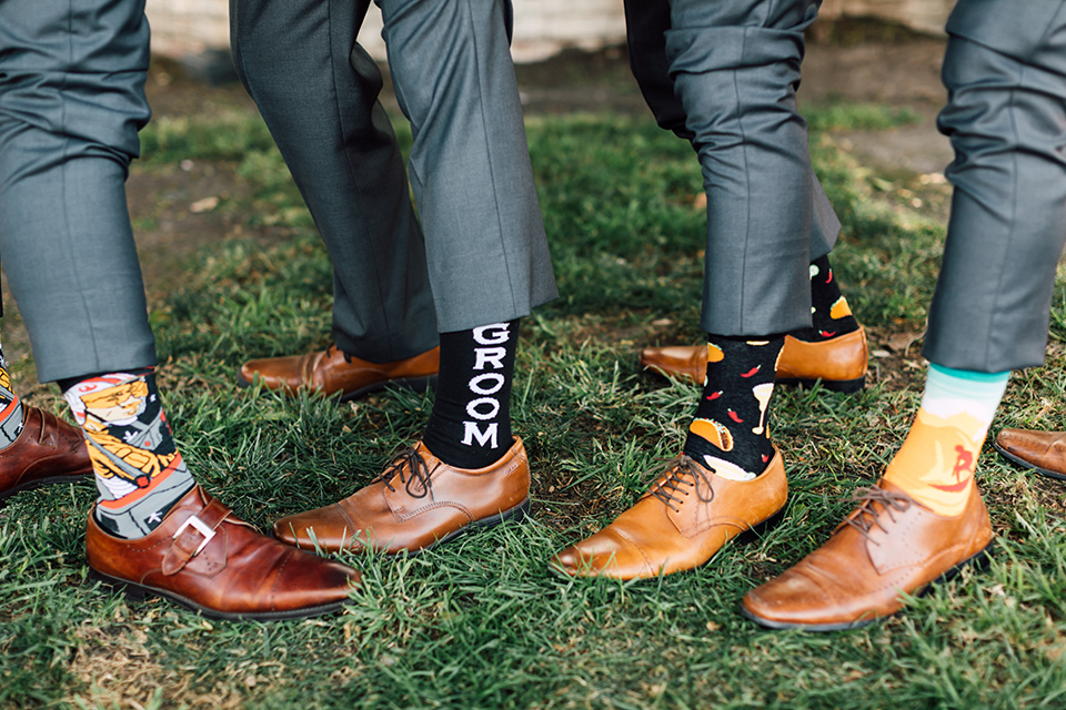 groom and groomsmen fun socks