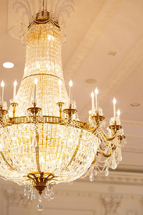 gold modern chandelier