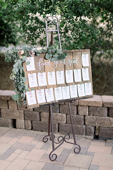 table cards for reception
