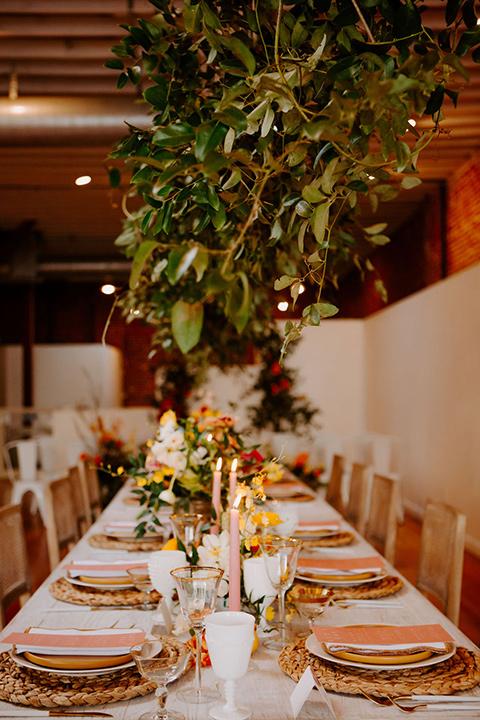 farmhouse boho wedding details