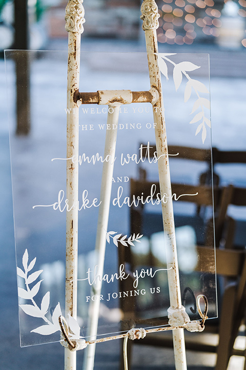 close up on rustic ranch winter decor