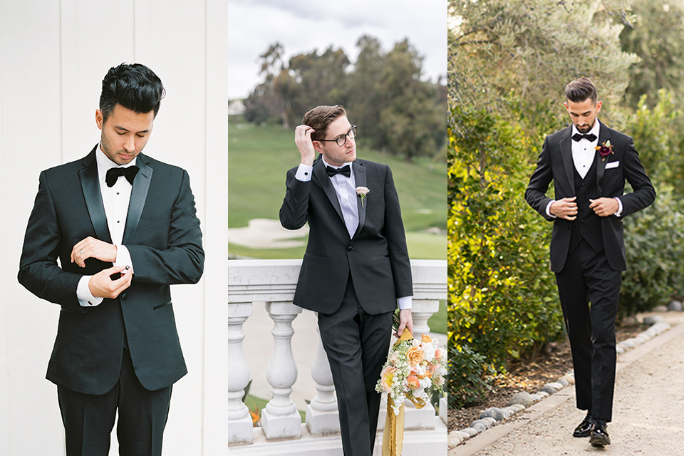 classic notch lapel tuxedo