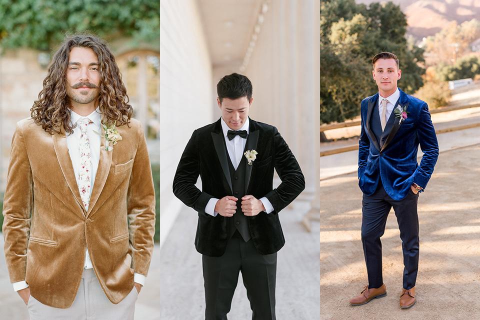 velvet tuxedo