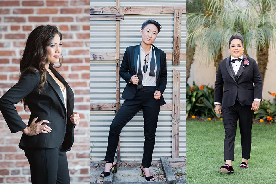 womens tuxedo