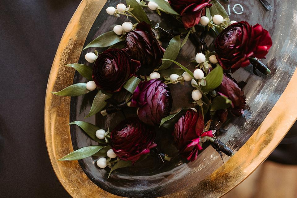 florals and boutonnières