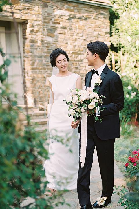 modern korean wedding attire