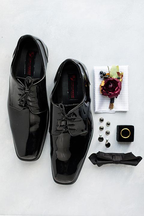 lemon inspired wedding design – groom accessories