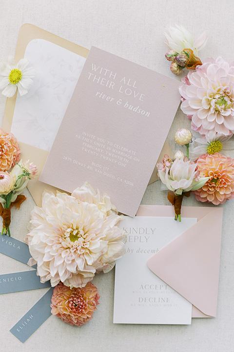 building 177 romantic coral wedding – rings