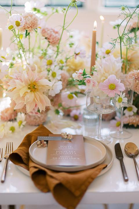 building 177 romantic coral wedding – flatware