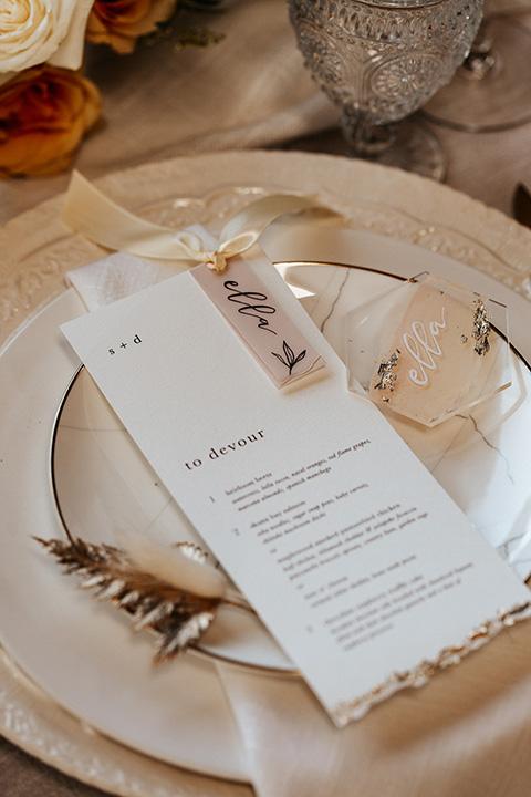 alleylujah neutral wedding – table flatware