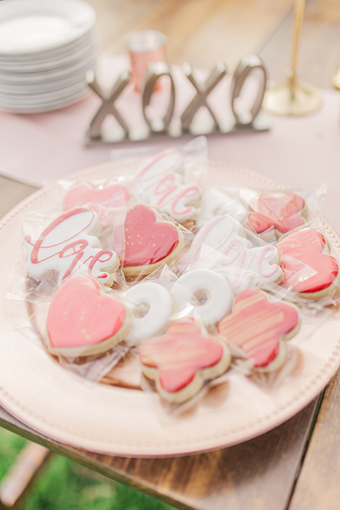 valentine's day xoxo cookies